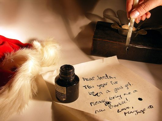 Write to Santa and get a personalised letter from him in return