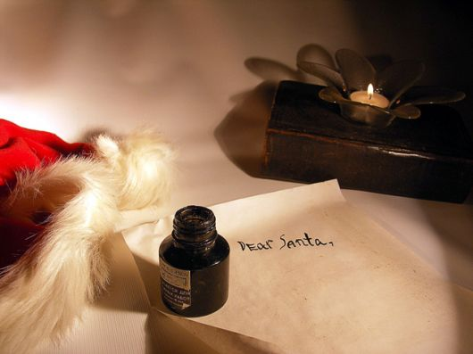 Things to consider when writing letters to Santa
